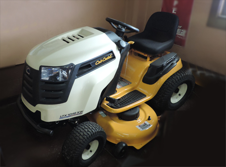 on Cub Cadet Ltx 1046 Kw Manual